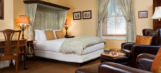 The Sayre Mansion Inn: Deluxe Queen Guestroom