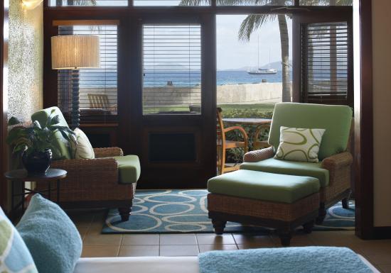 Peter Island Resort and Spa: Window View