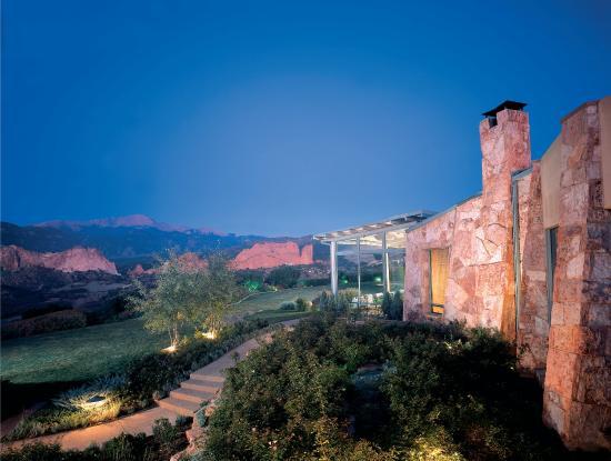 Garden of the Gods Club and Resort: Resort - Back Exterior