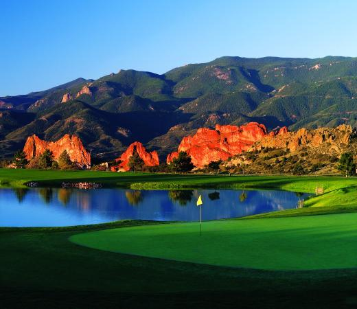 Garden of the Gods Club and Resort: Hole 3 West