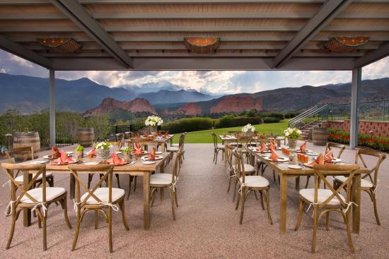 Garden Terrace Picture Of Garden Of The Gods Collection