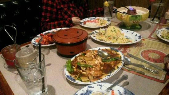 table full of food just delicious picture of empress of china rh tripadvisor com
