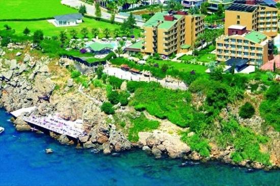 Club Hotel Falcon : Place Area