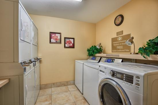 Candlewood Suites - Houston Park Row: Laundry day is free & fun at the Candlewood Suites Katy!