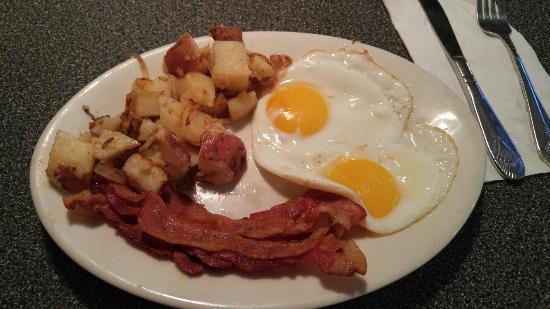 New Market, Wirginia: Breakfast