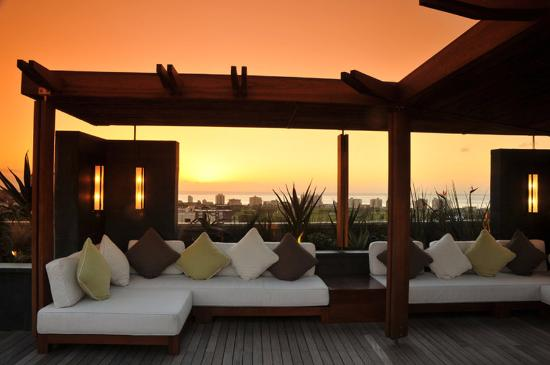The Cape Royale: Rooftop Lounge at Sunset