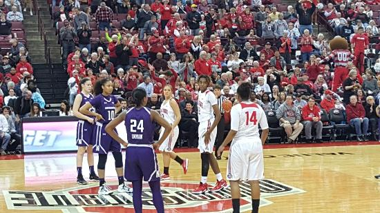 The Value City Arena at the Jerome Schottenstein Center: 20160128_190131_large.jpg