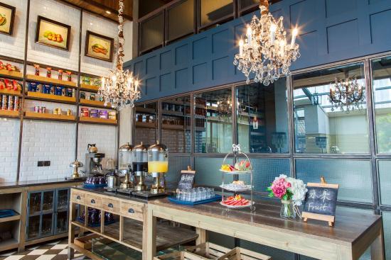 Holiday Inn Express Beijing Wangjing: Restaurant