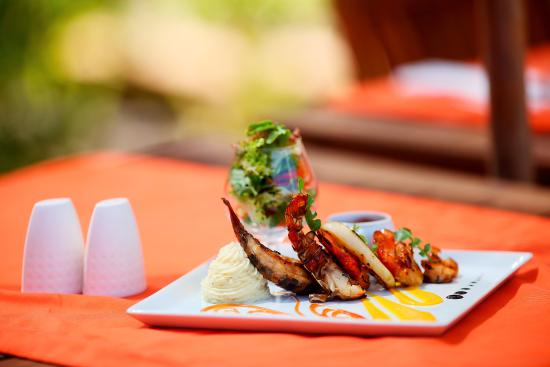 Hotel Carlton Antananarivo Madagascar: Cuisine