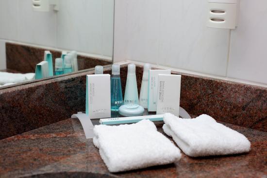 Hotel Carlton Antananarivo Madagascar: Bathroom Amenities