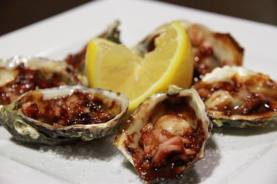 Gladstone, Avustralya: Oysters Kilpatrick