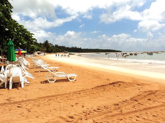 Ilha de Tinhare, BA: Praia de Garapuá - Brasil