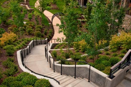 Newberg, OR: Garden Stairway