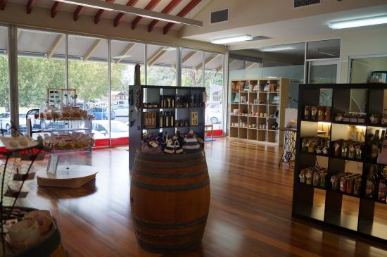 Local retail showcase at the Singleton VIEC - stock is sourced from Hunter Valley based supplier