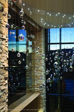 Sparkling Hill Resort: Crystal Stairway