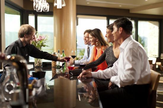 Sparkling Hill Resort: Coffee Bar