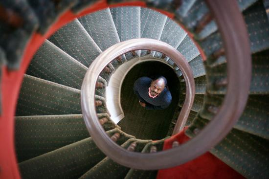 Hotel Brexton: Staircase