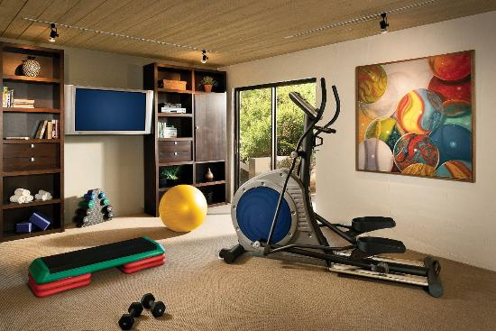 Paradise Valley, AZ: Casa Del Sano Workout Area