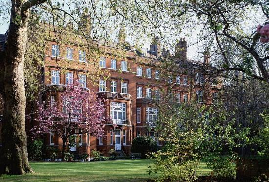 Draycott Hotel: Garden Blossom Landscape