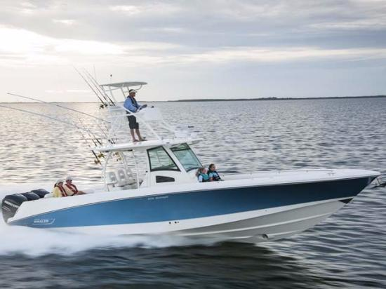 Fishing boat rentals are available nearby at the marina for Fishing boat rental