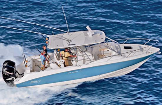 Sea Club IV: Fishing charter boats are available for rental nearby