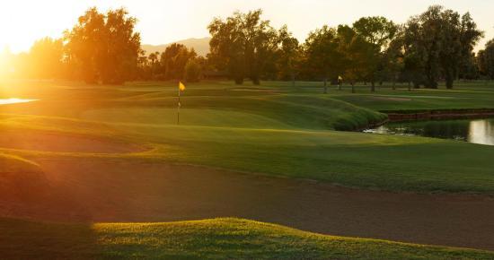 Litchfield Park, AZ: Gold Course Bunkers Hole