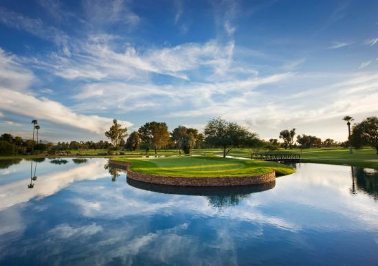 Litchfield Park, AZ: Patriot Course Island Green Eye Level