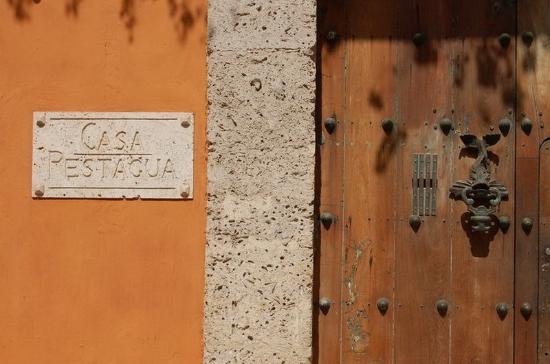 Casa Pestagua Hotel Boutique, Spa : Entrance