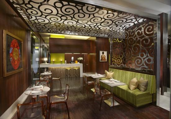 The Leela Palace New Delhi: The Spa Cafe