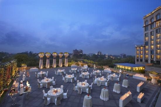 The Leela Palace New Delhi: The Terrace