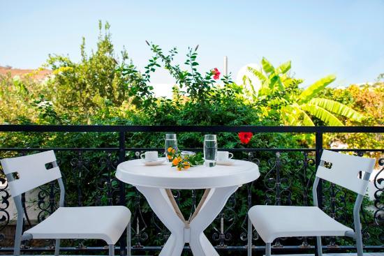 Grikos, Grecia: Balcony