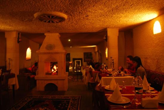 Gamirasu Cave Hotel: Restaurant