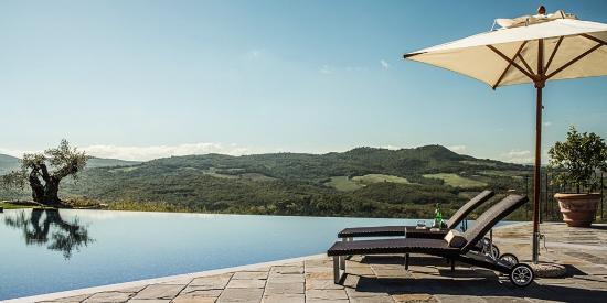 Casole d'Elsa, Italië: Pool