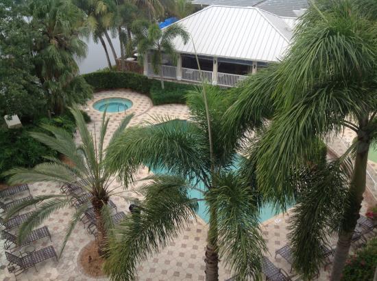 Trianon Bonita Bay: Ausblick von unserem Zimmer