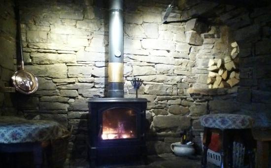 Knighton, UK: Winter warmth