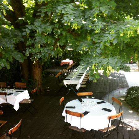 Merindol, Francia: Jardin