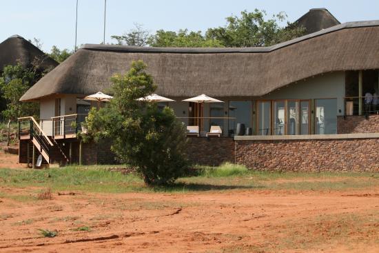Welgevonden Game Reserve, Sudáfrica: Main Lodge Exterior