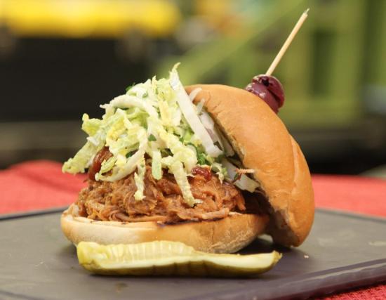 Blue Bell, PA: Pulled Pork Sandwich