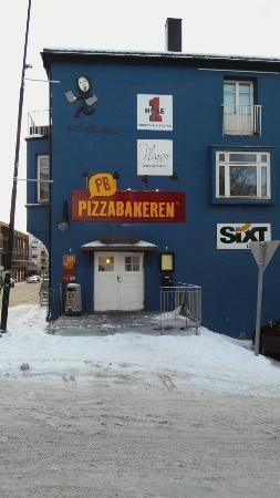 Narvik, Norwegia: Pizzabakeren
