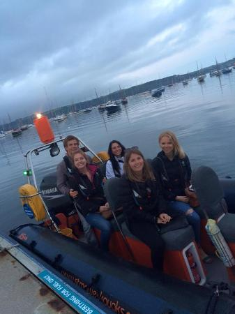 St Mawes, UK: An evening out in Mylor