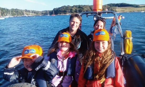 St Mawes, UK: Family RIB trip