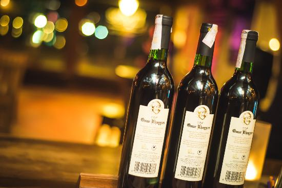 The Lodge Restaurant: Wine Bottles Collection