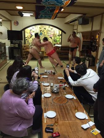 Asakusa Chankoba Sumo Demonstration