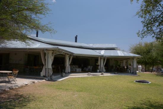 Great location for the Etosha N.P. and the best tent we have ever stayed in.