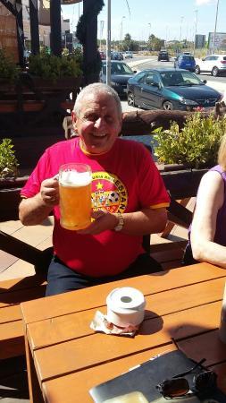 La Zenia, Spagna: Enjoying the craic