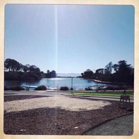 Isla Vista, Californie : UCSB Lagoon