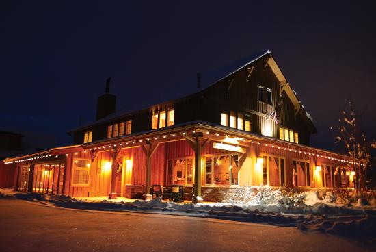 Gallatin River Lodge: Winter at the Lodge