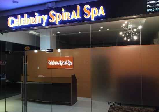 Celebrity Spiral Spa
