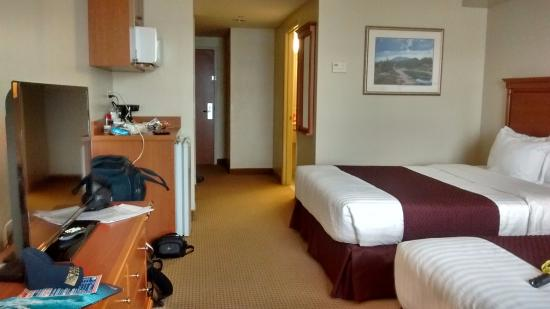 standard king size bed picture of days inn suites by wyndham rh tripadvisor ca