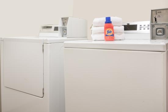 Eau Claire, WI: Our convenient guest laundry